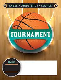 basketball c brochure template basketball tournament template stock vector illustration of