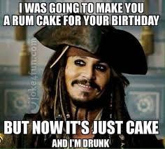 Biethday Meme - joke4fun memes rum cake