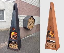 design idea metal fire pit designs and outdoor setting ideas