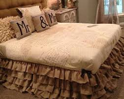 Detachable Bed Skirts Bedskirts Etsy