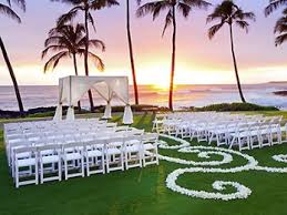 wedding locations featured wedding location of hawaii sheraton kauai resort