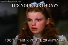 Birthday Meme 30 - funny birthday meme krista 30 meems pinterest christian