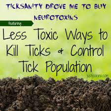 less toxic ways to kill ticks and control their population