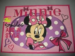 Disney Bath Rug Minnie Mouse Rugs For Kids Roselawnlutheran