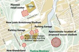 Citi Field Map Flushing Sports Arenas The Barclays Center Of Queens Curbed Ny