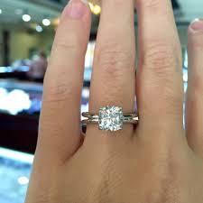 cushion engagement rings cushion cut engagement rings no halo raymond jewelers