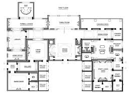 pentagon floor plan another open plan ground floor could use this well house plans