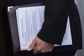 Top Secret Cover Sheet by Trump Cabinet Hopeful Forgets Cover Sheet Exposes Dhs Plan