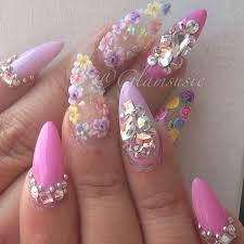 68 best 3d ネイル images on pinterest 3d acrylic nails acrylics