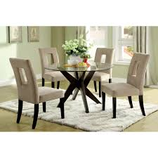Small Dining Room Sets For Apartments by Round Glass Dining Room Tables 9217