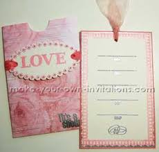 make your own bridal shower invitations how to make bridal invitations for your bridal shower party