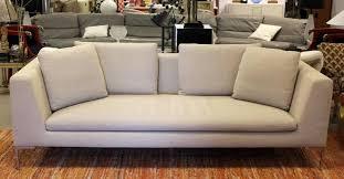 b b italia sofa mid century modern b b italia charles sofa chrome legs italy