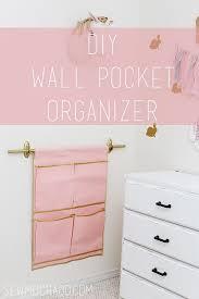 Wall Organiser Best 25 Pocket Organizer Ideas On Pinterest Hanging Organizer