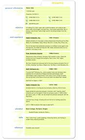 Job Resume Format Samples Download by Resume Tip Tuesday Lessons From Steve Jobs U0027 Resume Careerbliss