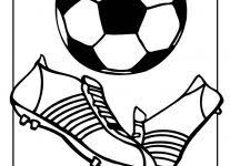 soccer ball coloring coloring pages free blueoceanreef
