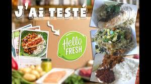 cuisine facile avec cuisine facile avec hello fresh box repas à domicile