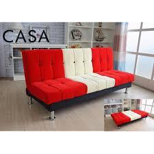Sofa Bed Murah Casa Ika Convertible Futon Sofa Bed Lazada Malaysia