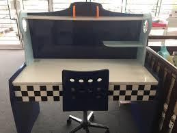 f1 racing u201d kids study desk blue bambino home