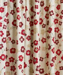 Cherry Kitchen Curtains Collection In Cherry Blossom Curtains And Branched Cherry Blossom