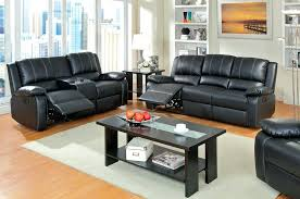 Recliner Sofas On Sale Black Leather With Recliners Black Leather Recliner Sofa For