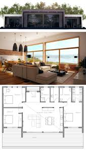 Family House Plan by Modern Family House Plans Plansmodern Home Floor Dunphy Laferida