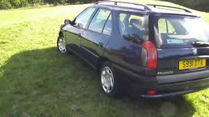 peugeot diesel estate cars for sale peugeot 306 1 6 diesel estate youtube