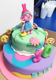 poppy trolls cake from the movie 2 pinterest cake