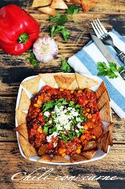 cuisine texane chili con carne with nachos texan cuisine