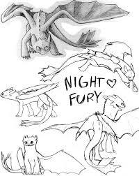 night fury by kaileo on deviantart