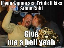 Triple H Memes - triple h is gay quickmeme