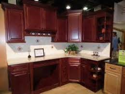 Dark Cherry Kitchen Cabinets Kitchen Cabinetry Topic Also Cherry Cabinets Matter And Cherry