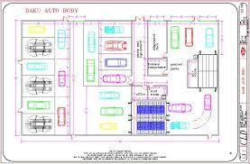 automotive shop layout floor plan auto repair shop building plans floor related keywords home