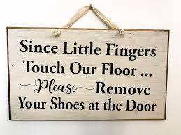 amazon com since little fingers touch floor remove shoes door