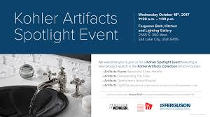 kohler artifacts spotlight event salt lake design week