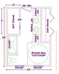 Free Home Plan 13 X 12 Bathroom Design Master Bathrooms 12x16 Free Floor Plan
