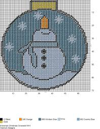 snowman christmas ornament wall hanging plastic canvas
