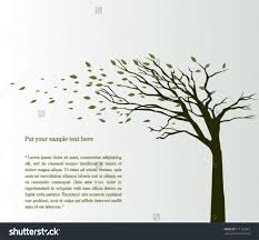 stock vector tree blowing in the wind vector background 111122072