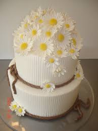 cowgirl bridal shower daisies st louis custom cakes