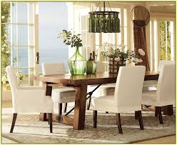 pottery barn slipcovers dining room chairs home design ideas