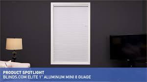 blinds com elite 1 u0026 34 mini 8 gauge aluminum blind u0026raquo