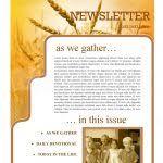 thanksgiving newsletter thanksgiving church newsletter template