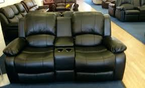 email a friend brown leather recliner with cup holder power
