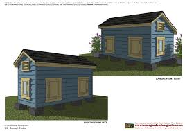 floor plan with perspective house home garden plans dh303 insulated dog house plans dog house