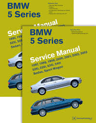 bmw 5 series e39 service manual 1997 1998 1999 2000 2001