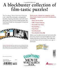 the everything movie word search book 150 blockbuster puzzles for