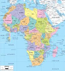 Northern Africa Map by Africa Maps And Map Of And Asia Roundtripticket Me