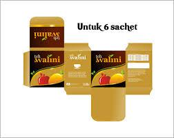 Teh Walini sribu product design kemasan sle untuk teh walini