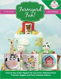farm cake toppers farmyard easy cake toppers for any farm themed party