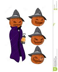 free jack o lantern clipart vector cartoon jack o lantern character stock illustration