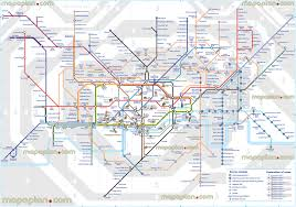 Metro Station Map by Maps Update 24001573 London Tourist Map With Tube Stations